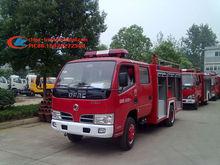 Double cabine camion de pompiers, 3.5 T mousse camion de pompiers 4 * 2 main gauche conduite