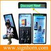 led walking billboard/Human billboard street walkers new advertising