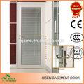 exterior de aluminio lumbrera de cristal de la puerta