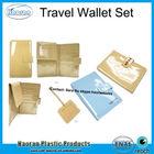 Fashion PVC Travel purse set with luggage tag