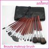 18 piece pro high quality makeup brush set, professional makeup brush set, beauty needs makeup brush set 18 piece