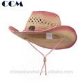 la pintura de niños de paja sombrero de vaquero