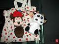 Venta al por mayor 100% de algodón de promoción bolsas de regalo( yc6898)