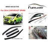 2014 CHEVROLET SPARK wind deflectors,door visor,window deflectors,car rain visor,car accesories