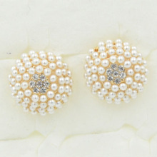 Pear stud earring product selling alibaba pearl earring designs