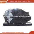el último diseño de la flor de granito tallado lápida lápida y lápida de monumentos