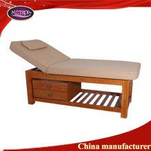 2014 MZTspa vintage table soild wooden massage bed wood furniture