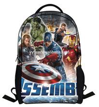 BP490130 Hot Sale League of Legends Kids School Bag Cartoon Pattern Backpack Bag For Boys