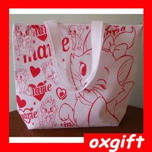 OXGIFT Women's Girls Non-Woven Fabrics Handbag Reusable Tote Beach/Shopping bag