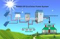 completa 20kw fuera de la red de energía solar sistema de pliego de condiciones normales con el uso de alta eficiencia y un rendimiento estable