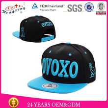 High quality custom new flexfit hip hop cap flat brim snapback hat