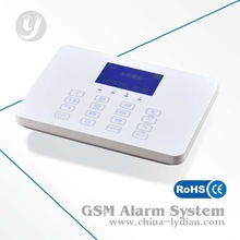 Wireless Home Security Touch Keypad GSM Alarm System can Connect with Wireless Solar Siren LYD-118