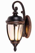 European high quality outdoor led brass wall light (HS7218-DN-L)