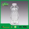 Bear Shape Transparent 16 oz Plastic Bottles Wholesale