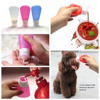 Dog Water Bottle/Portable Mini BPA Silicone Portable Dog Water Bottle