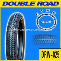 street tread tyre 2.25-19 motorcycle
