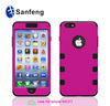 China verdors supply silicone cell phone case cover for apple iphone 6 plus