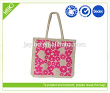Customized wholesale eco recycled foldable canvas bag shopping bag