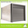 Sandwich Panel Modualr Prefabricated Timber Frame House For Carport