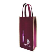 fancy wine bottle gift bags custom paper wine bag clear pvc wine bag