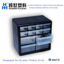 Small & convenience 12 drawer plastic storage