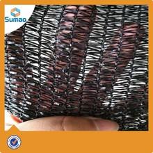 Black plastic window shade nets