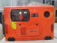 good quality super-silent 12kva diesel fuel home generator
