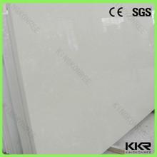 Beige pietra del quarzo artificiale/pavimentazione delle mattonelle del quarzo lastra tagliata a misura