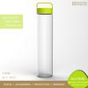 Novelty Healthy Protable Glass 750ml Sports Drink Bottles