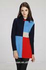 New elegant ladies cashmere/wool contrast colors thailand fashion dress