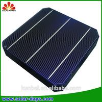 hot sale monocrystalline soalr cell for 72 cell solar photovoltaic module