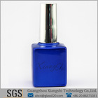 shiny blue square nail polish remover containers 0.5oz