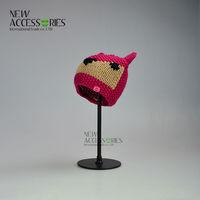Girls crochet beanie hats factory