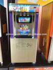 Three flavors soft ice cream machine