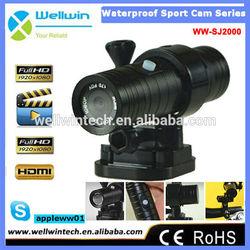 SJ2000 Waterproof Sport Action Camera HD 1080P 12MP Sports DV cam Helmet
