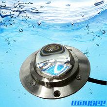 Wide angle elegant IP68 COB RGB LED underwater light marine
