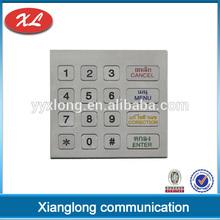 hotsale 16 keys kiosk quality numeric keypads keyboard