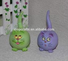 Polystone/resin/polyresin cartoon cat gifts, cartoon souvenir crafts
