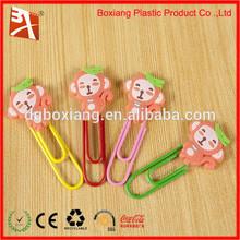 2014 fashion 3D soft pvc bookmarks silicone bookmark flat bookmark pens