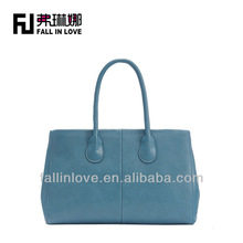 stocked best price high quality PU business women handbag PU bags lady tote bag
