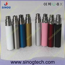 rechargeable battery E-cig detachable 2000mah ego battery,TF1 variable voltage double model head e-cig wholesale ego battery