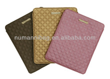 Hot sale waterproof PU leather laptop briefcase for ipad