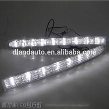 DLAND 2005-2009 CROWN GEN12 REAR VIEW MIRROR LED TURN SIGNAL LIGHT DAYTIME RUNNING LAMP, FOR TOYOTA