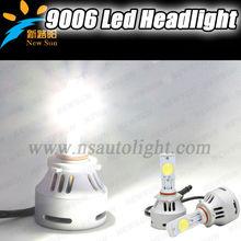 12V Kit 9006 70W C REE LED car head Light bulb 6500K Xenon white car headLights with CE ROHS certificate