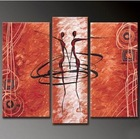 Human Figure Dancing New Design Canvas Art For Living Room