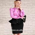 botón de diseño de la mujer hembra dama formal de la moda falda