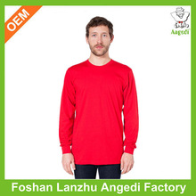 Top sell stylish custom cotton inner long sleeve t shirt