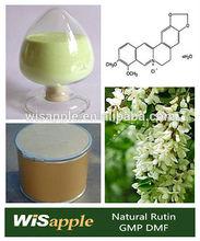 GMP DMF Manufacturer supply Sophora Japonical Source 95% 98% Rutin