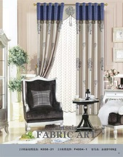 2014 design window fabric luxury fashion custom drapery and curtain
