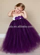 2014 Hot sale Flower Girls Dress/girl party wear western dress/Kids tutu dress Manufacturers